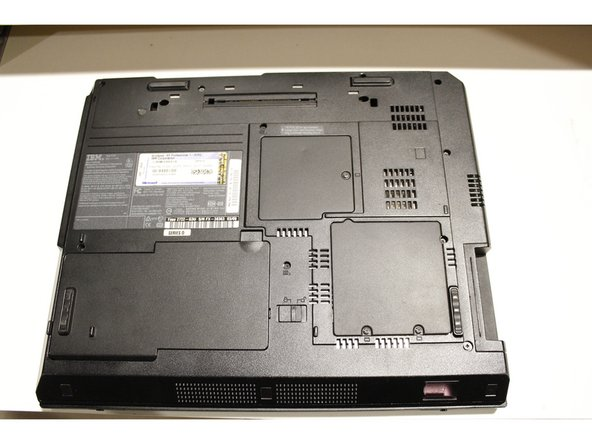 IBM ThinkPad R40 Hard Drive Replacement