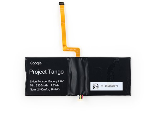 "From Google: ""The battery is custom designed to be dual cell for max power drawn when necessary—again, we want no compromises for the developer wanting to pull juice and kick out heat."""