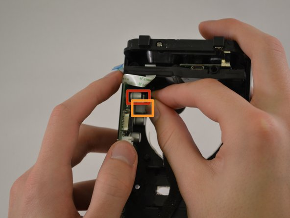Image 1/1: Pull the battery power cable away from the motherboard to disconnect it.