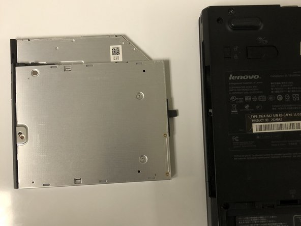 Lenovo ThinkPad T410s DVD Drive Replacement