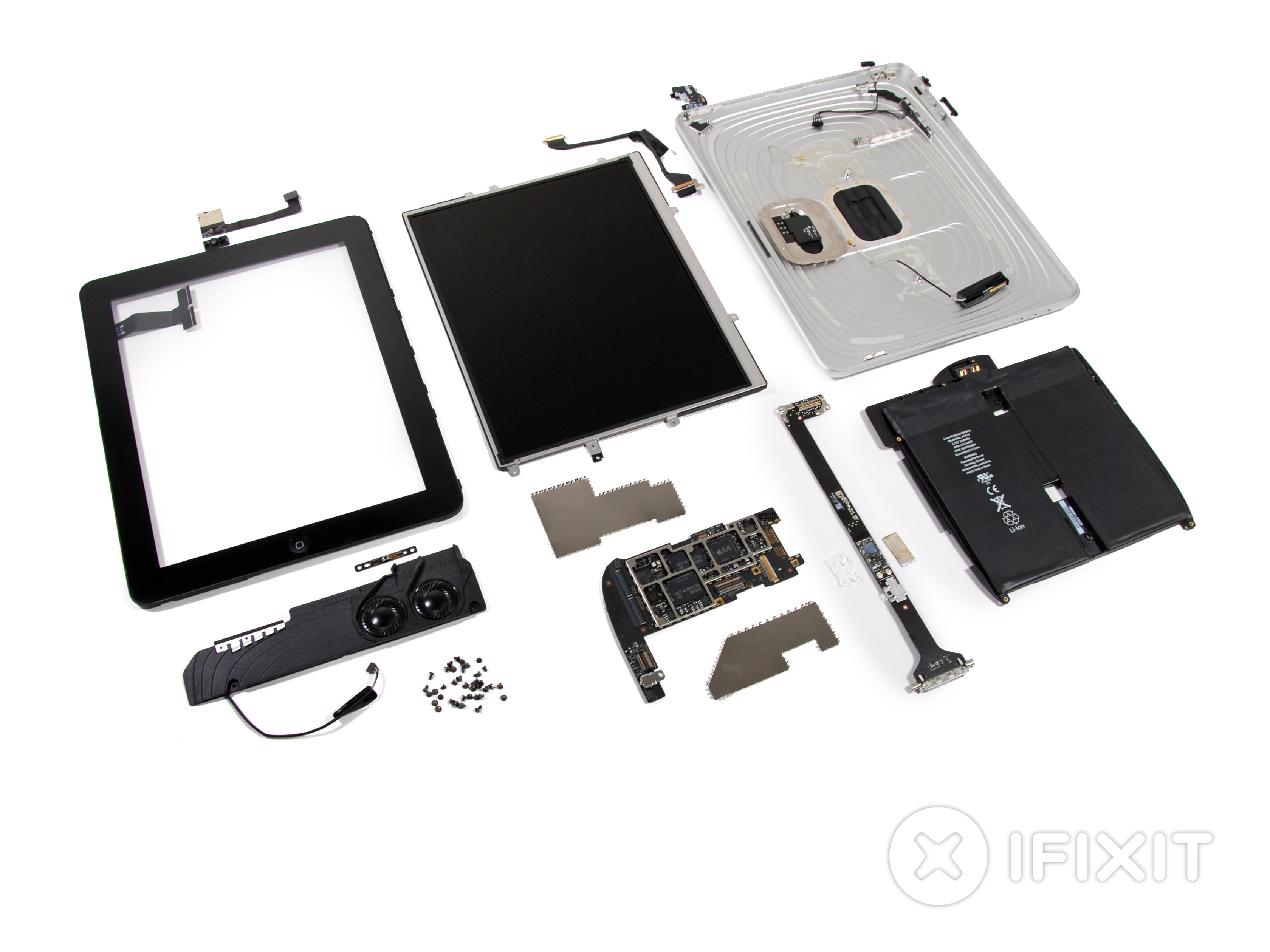 Ipad Wi Fi Teardown Ifixit Tool Tip Repair A Circuit Board Skool
