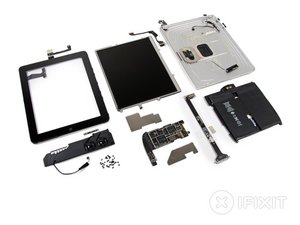 iPad Wi-Fi Teardown