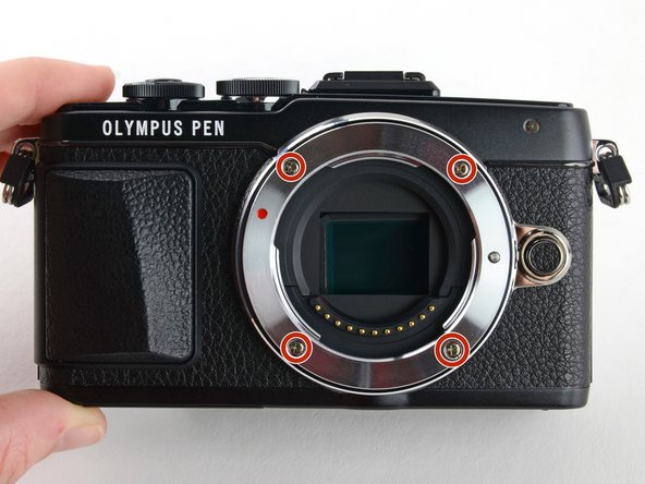 Olympus Pen E-PL7 Lens Assembly Replacement