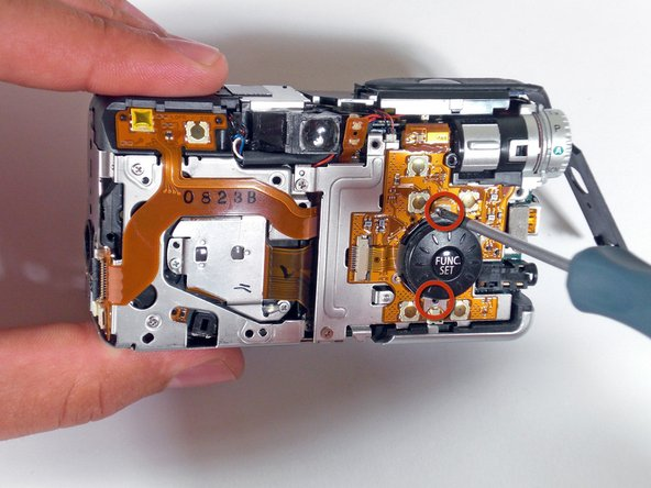 Canon PowerShot S80 Motherboard Replacement