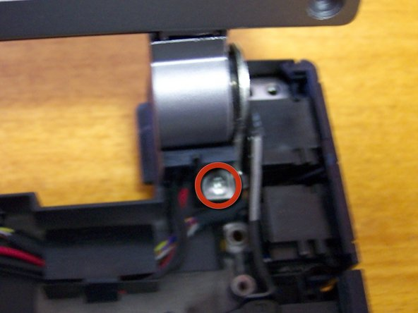 Image 1/2: Remove ground screw and wire.