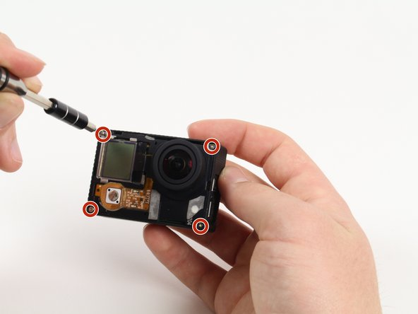 GoPro Hero3+ Silver Edition Image Sensor Replacement