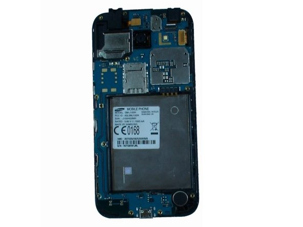 Samsung Galaxy J1 Logic Board, Main Camera, Front Camera, Earpiece, Loudspeaker  Replacement