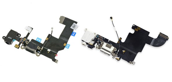 iPhone 5 and iPhone 6S lighting port assembling cables