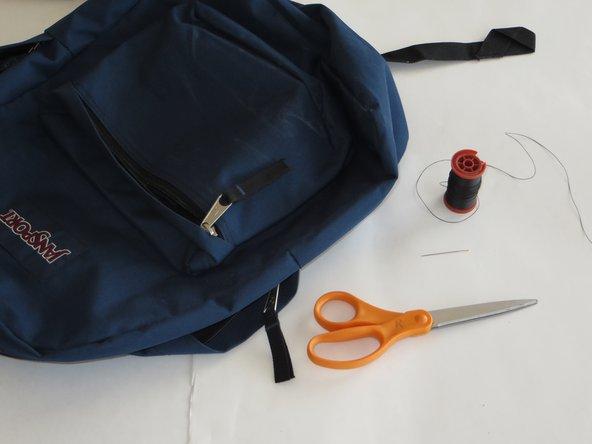 Torn-Off Backpack Shoulder Strap Repair