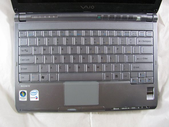 Sony Vaio PCG-4K1L Keyboard Replacement
