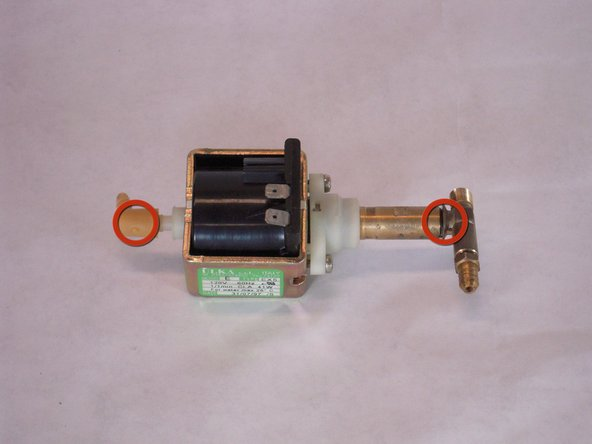 Image 3/3: See the links section of the device page for where to purchase a new pump.