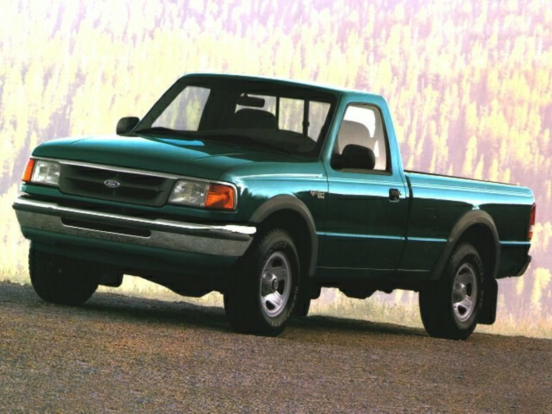 1995 ford ranger transmission type