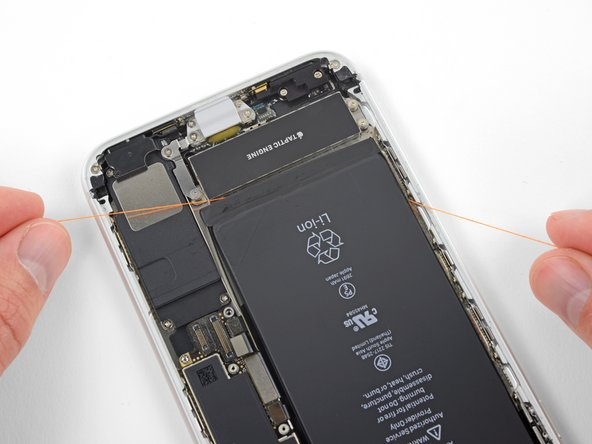 Heat the iPhone until the rear case is slightly too hot to comfortably touch. Don't overheat the iPhone, or you may accidentally ignite the battery.