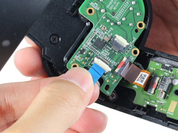 Make sure to only lift the flap and not the connector socket because the socket easily breaks off.