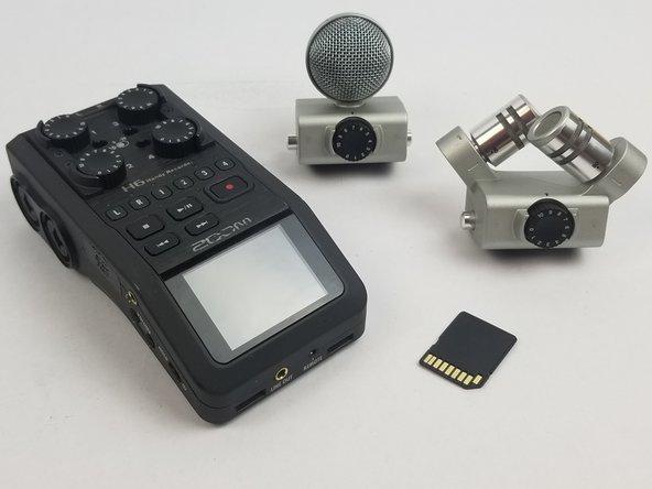 zoom h6 handy recorder repair ifixit. Black Bedroom Furniture Sets. Home Design Ideas