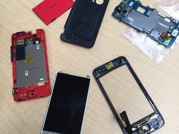 That is how you take apart the HTC