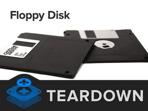 Floppy Disk Teardown