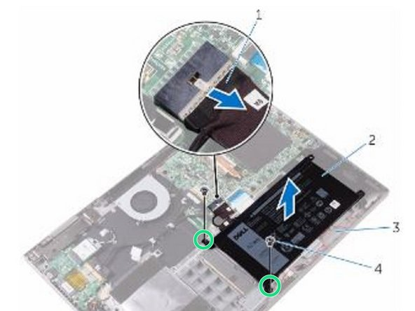 Press and hold the power button for 5 seconds to ground the system board.