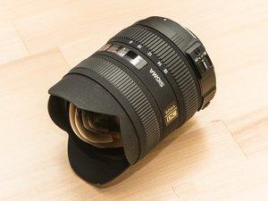 Repairing Sigma 8-16 mm lens