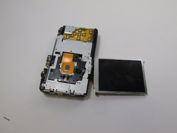 Canon PowerShot SD780 IS LCD Screen Replacement