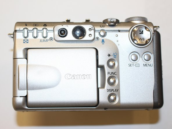 Canon PowerShot G3 Speaker Replacement
