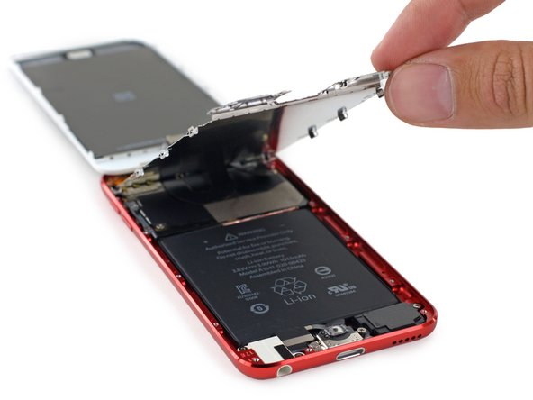 Image 2/2: We won't get our hopes up, but maybe changes made with the processor bump include separating a few components off the [https://www.ifixit.com/Teardown/iPod+Touch+5th+Generation+16+GB+2014+Teardown/26806#s66578|soldered-together mess|new_window=true]  of the 5th gen.
