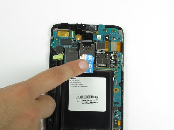 Samsung Galaxy Note SIM Card Replacement