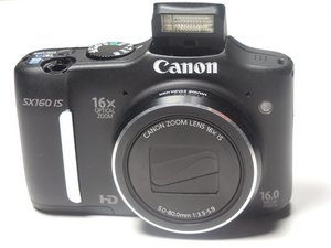 Canon PowerShot SX160 IS Troubleshooting
