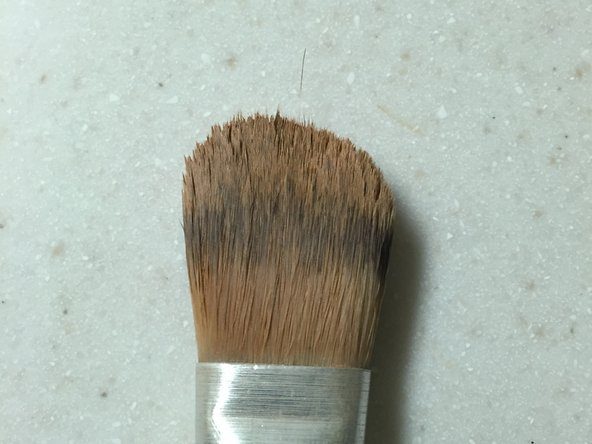 Within approximately three hours, the brush bristles will be back to normal.