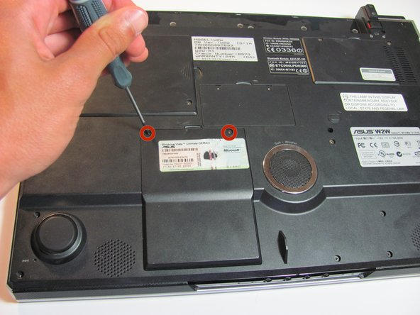 Before disassembly, make sure the laptop is powered off and the battery is disconnected.