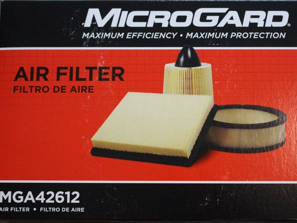 Correctly identify the air filter for a 2009-2013 Mazda 3.