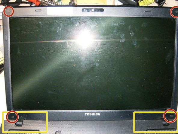 The LCD is in good shape and has no cracks.