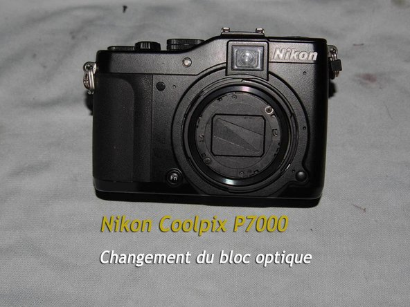 Nikon Coolpix P7000 Teardown