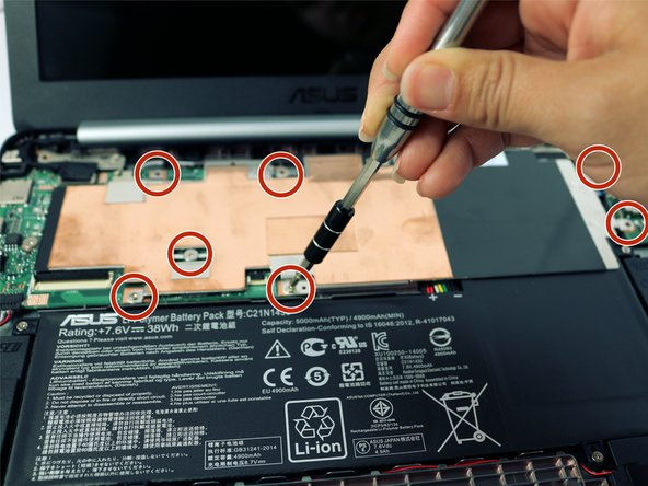 Asus Chromebook C201 Battery Replacement