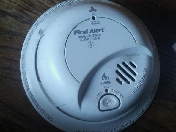 The First Alert Smoke and Carbon Monoxide Alarm. There when you need it, also there when you don't need it and the batteries are low.