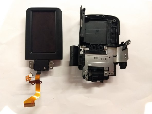 Panasonic SDR-H40P LCD Screen Replacement