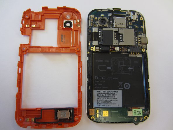 HTC Desire V Midframe Replacement