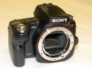 Sony Alpha SLT-A55V Repair
