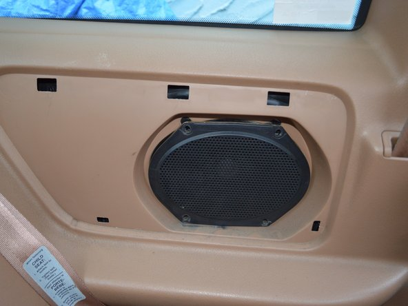 Remove the speaker like the driver's side (as show earlier)