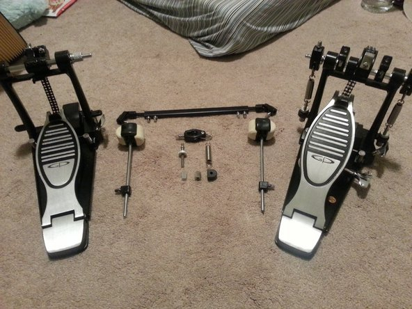 GP Percussion DP778TN Double Bass Pedal Assembly Technique