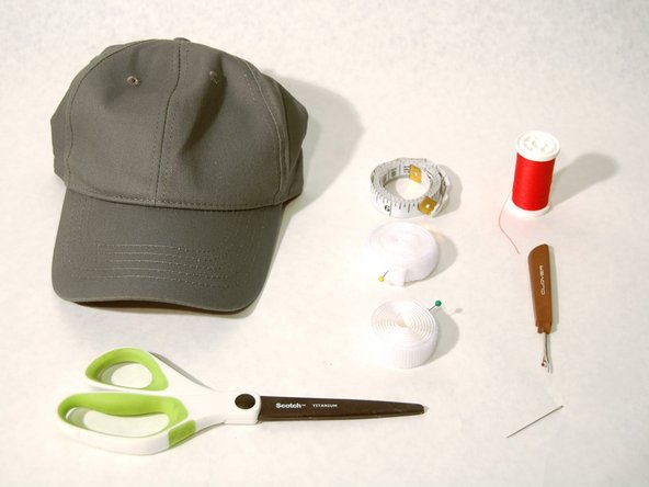 How to Replace Velcro on a Baseball Cap