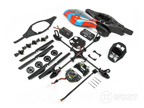Parrot AR.Drone teardown parts