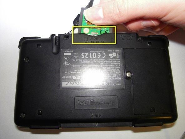 replacing nintendo ds battery ifixit repair guide. Black Bedroom Furniture Sets. Home Design Ideas