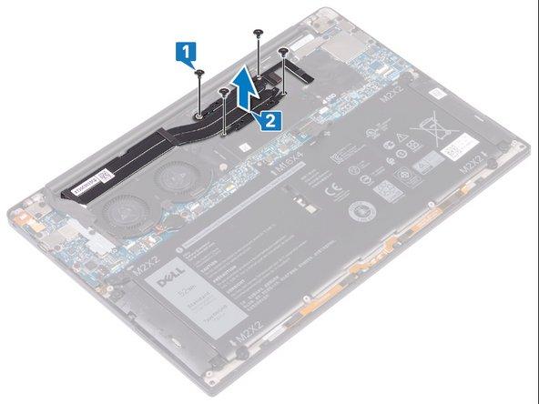 Remplacement du ventirad sur le Dell XPS 13 9380