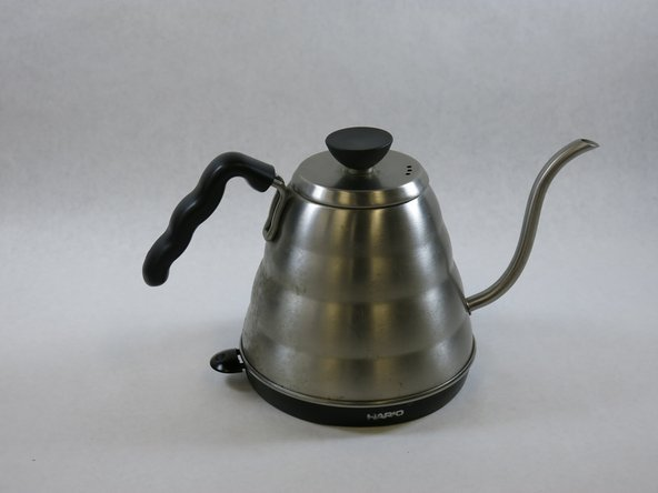 Hario Electric Buono Tea Kettle Disassembly