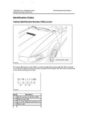 2003 Ford Mustang Service Manual
