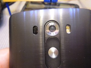 Rear Facing Camera Lens Cover
