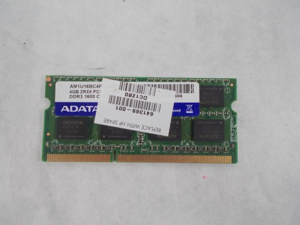 HP Pavilion G7-2289wm RAM Replacement