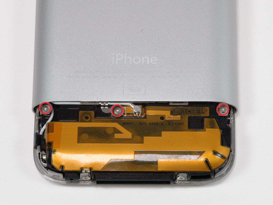 1st generation iphone iphone 1st generation replacement ifixit repair guide 1423