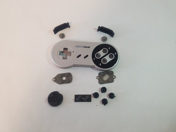 Retro-Bit Retro Duo Controller Button and Pad Replacement.